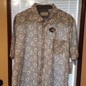 Black and white men's shirt